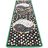 WE&ZHE Natural Stone Pebble Foot Massage Pad Foot Massage Foot Pad Gravel Blanket Pressure Plate (40/150CM)