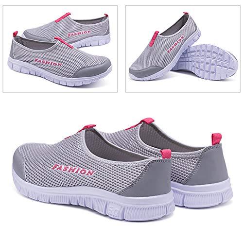 Baskets De Taille Chaussures Escarpins On Sport Mocassins Slip Sneakers Rouge En Respirant Plimsole Cuir Running Pour Frestepvie Hommes gris Fqw5qZd