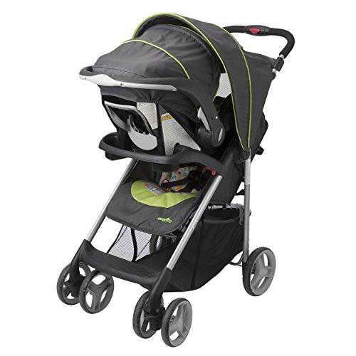 how to open evenflo journey stroller