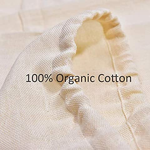 CONIE Extra Large 20″x24″ Straining Brew in a Bag Cheesecloth Filter Bag for Fruit Juice Apple Cider Beer Wine