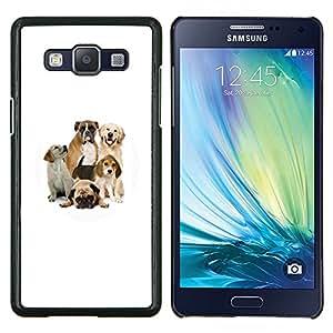 EJOOY---Cubierta de la caja de protección para la piel dura ** Samsung Galaxy A5 A5000 ** --Pug Beagle Labrador Boxer Perros Raza