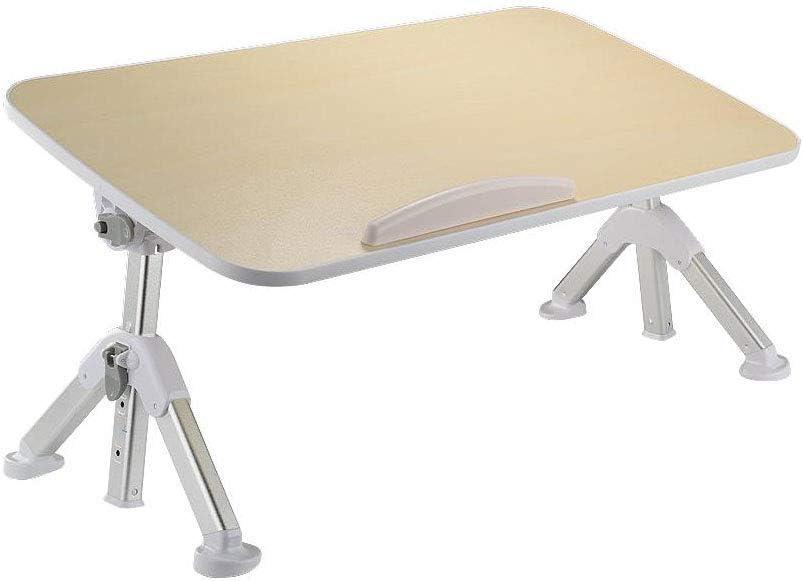 ラップトップベッドテーブル折りたたみ式ポータブルノートブックデスク高さと角度調整可能な人間工学に基づいたラップトップスタンド(サイズ:52cm)