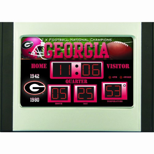 Georgia Bulldogs NG Scoreboard Desk (Bulldog Clock)