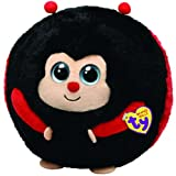 Ty Beanie Ballz Dots The Ladybug (Medium)