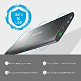 Vinsic 20000mAh Dual USB Power Bank for Smartphones, Tablets and PC, Grey