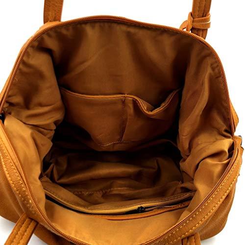 Cadeau En Cours Étudiante Élégant Jaune Sac Main Lycée Femme Chic À Idée Bandoulière Tendance École De Angkorly fqSnw1ZWCC