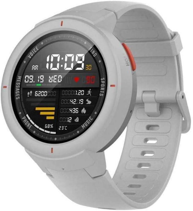 Amazfit Verge Xiaomi Smartwatch Deportivo - Reloj Deportivo GPS   Sensor de Frecuencia Cardíaca  Reproduce Música   Blanco (Versión Internacional) iOS-Android (Reacondicionado)