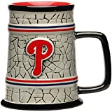 The Memory Company MLB Philadelphia Phillies Stone Stein, One Size, Multicolor