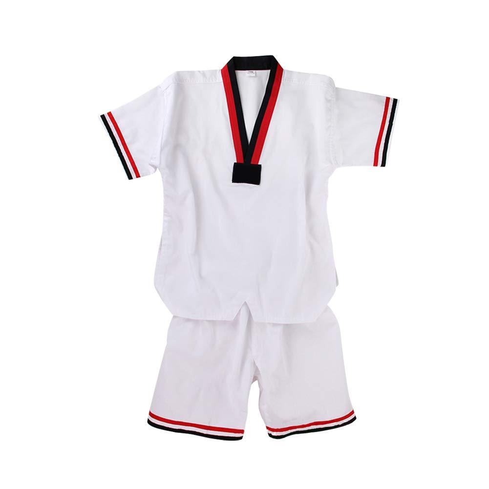 Daytwork Taekwondo Kimono - Niño Adulto Unisex Hombre Cuello ...