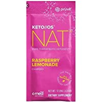 Pruvit Keto//OS NAT Raspberry Lemonade Charged, BHB Salts Ketogenic Supplement - Beta Hydroxybutyrates Exogenous Ketones…