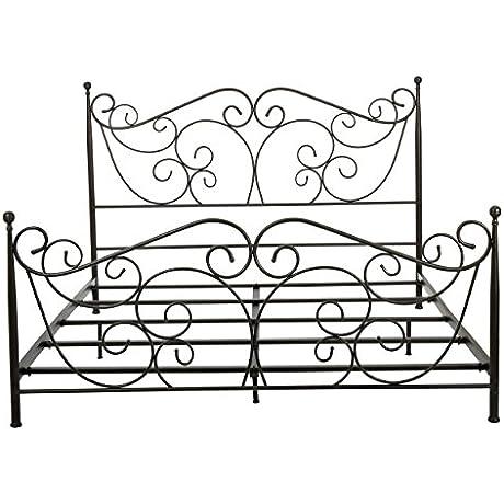 Denise Austin Home Horatio King Size Metal Bed Frame