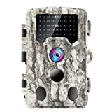 Climbose Hunting Trail Camera, 24MP 1080P HD Night Vision Hunting Video Cam, 65FT Wildlife Camera with 940nm IR LED, 2' LCD, Waterproof IP56, Instant Surveillance Camera (Trail Camera, 24MP)