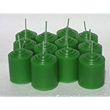 12 Pack Sweetgrass 10 Hour Votive Candles