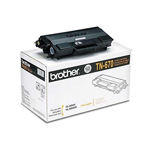 Brother TN670 High-Yield Toner Cartridge, Black (7,500 Yield) (High Yield Tn670)