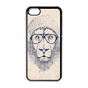 Customized Durable Case for iPhone 6 4.7, Hipster Lion Phone Case - HL-R6 4.788905 WANGJING JINDA