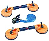 SUNTECH SM-9111K Double Suction Cup Kit with Strap