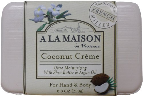 A la maison coconut creme soap 8 8 ounce a la maison for A la maison soap review