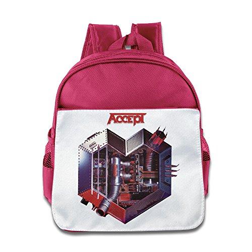 Ysov Accept Band Toddler Boys Girls Pre School School Bag Pink