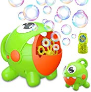 Bubble Machine, Bubble Toy for Kids Automatic Bubble Machine 3000 Bubbles Per Minute, Durable Bubble Blower fo