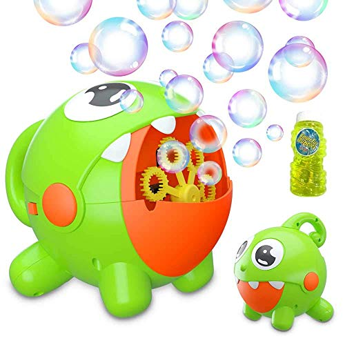 Grandchildren love this Bubble Machine