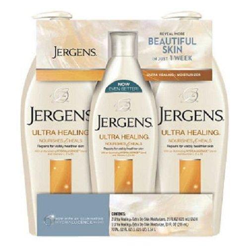 Jergens Healing Lotion Triple bottles