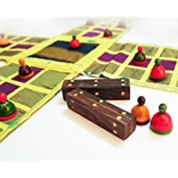 Kalaplanet Historical Chausar Game (Multicolour)