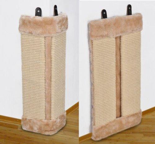 Katzen-kratzbrett faltbar Eckkratzbrett Kratzecke für Wand oder Ecken