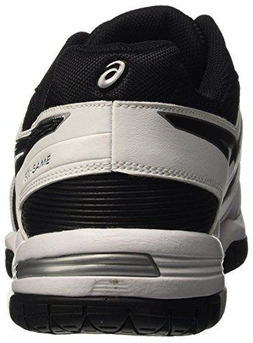 Homme blanc game De Noir Asics 5 Multicolore Gel Chaussures Tennis Argent xp4tw