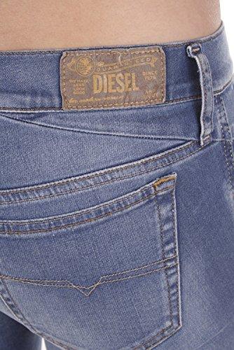 Azul Ladies Skinny Pants Getlegg Diesel Jeans 0826Z Slim TqEw0EH4xn