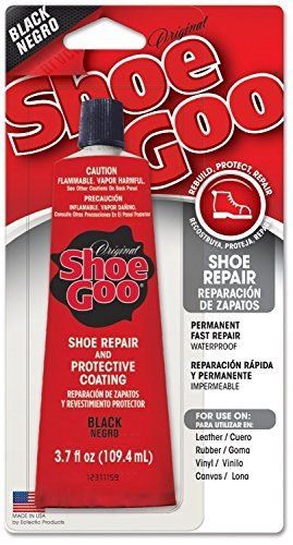 Amazing Goop 110212 6 Pack 3.7 oz. Shoe Goo Adhesive, Black by Shoegoo