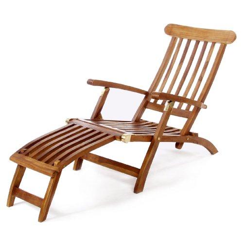 All Things Cedar TF53 Teak Steamer Chair