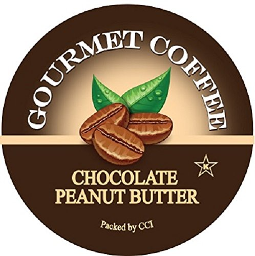 Smart Sips, Chocolate Peanut Butter Gourmet Coffee, 24 Count, For Keurig K-Cup Brewers (Gloria Jeans Cappuccino K Cups compare prices)