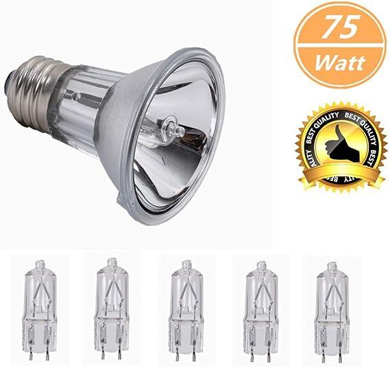 75W Ceramic Infrared Reptile Vivarium Brooder R85 Heat Lamp /'Light Bulb/' ES E27