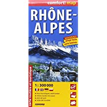 RHONE ALPES  1/300.000 (COMFORT !MAP, LAMINEE)