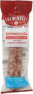 product image for Creminelli Sopressata Salami - Humanely-Raised U.S. Pork, Keto & Paleo Friendly, High Protein - Sugar Free, Gluten Free (Sopressata, 5.5 Ounce (Pack of 1))