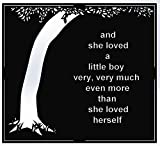 She loved a Little Boy Verse Wall Decor