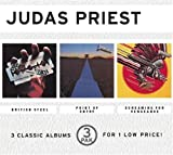 British Steel/ Point of Entry/ Screaming For Vengeance by Judas Priest