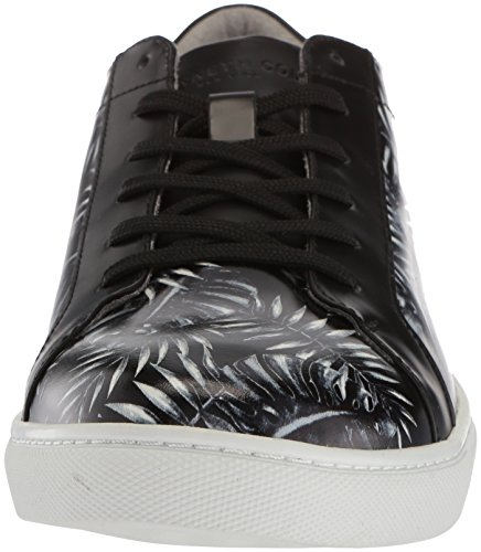 Kam Cole Kenneth Leaf Sneakers Basses Homme Black Noir w5wxqOPd