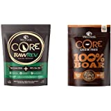 Wellness CORE RawRev Wild Game Protein Pack: Includes CORE RawRev Wild Game 4 lb. and 100% Freeze Dried Boar Treats