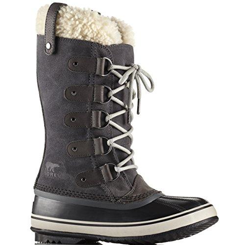 Sorel Women's Joan of Arctic Shearling Boot Dark Grey/Black 10 B(M) US