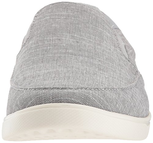Crocs Mujeres Citilane Low Canvas Slip-on Gris Claro