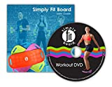 Simply-Fit-Board-The-Abs-Legs-Core-Workout-Balance-Board-with-A-Twist-As-Seen-on-TV
