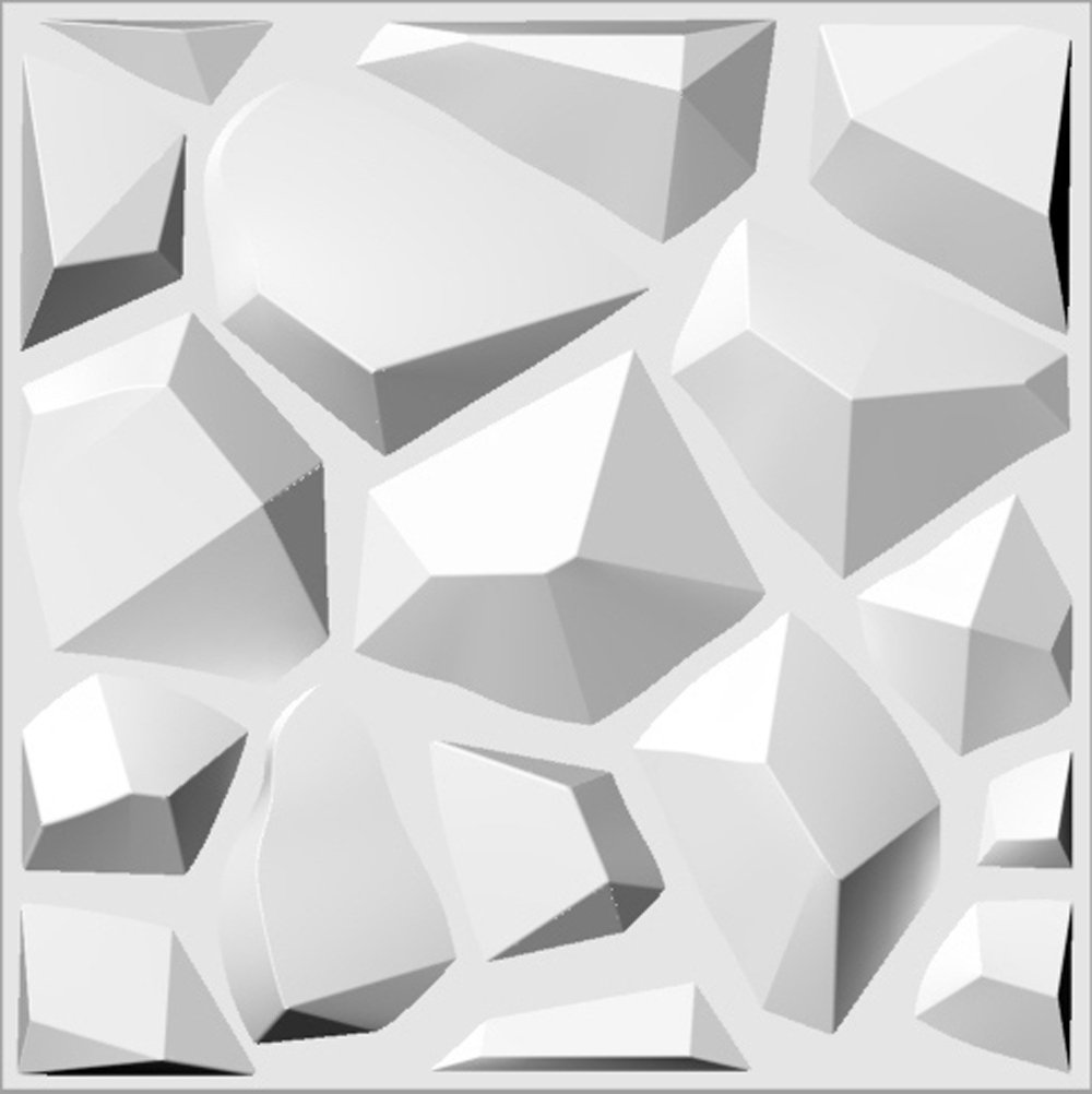 Contempo Living 3D-Cave Cave 3D Wall Panel, 27 sq. ft.