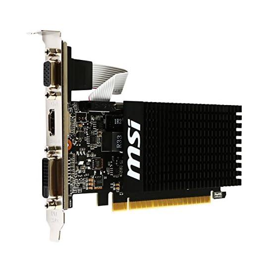MSI Computer Video Card GT 710 2GD3H LP 51d6btKBIwL. SS555