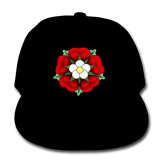 7a63cd32d72 Custom Personalized Baseball Cap-Red-Flower Outdoor Sport Baseball ...