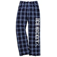 Ice Hockey Columbia Blue Lounge Flannel Pant with Pockets