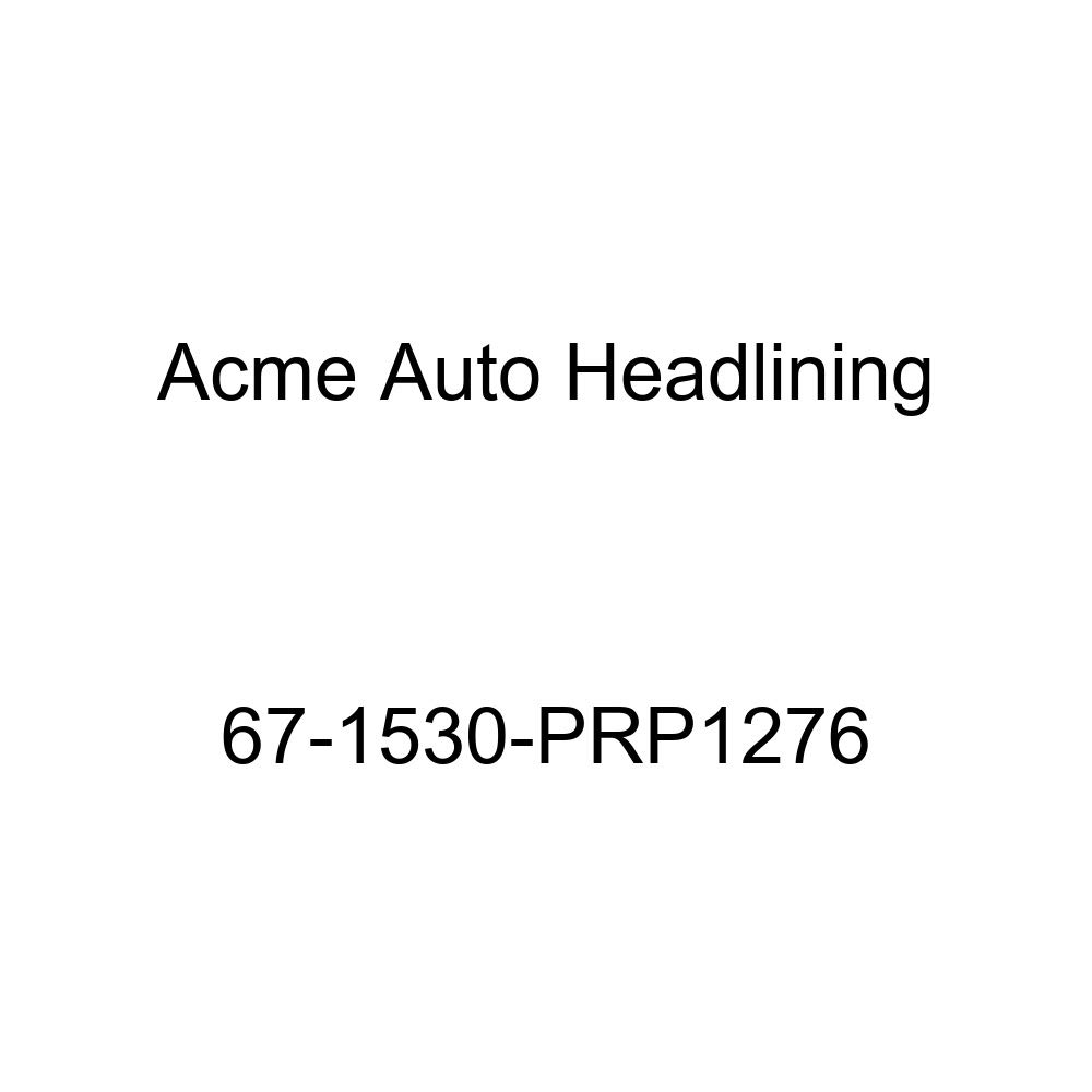 Acme Auto Headlining 67-1530-PRP1276 Dark Green Replacement Headliner Pontiac Lemans /& Tempest 4 Door Hardtop 6 Bow