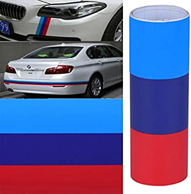 matoen (TM) Vinilo para BMW bandera m pegatina cintura línea bmwm sticker adhesivo: Amazon.es: Juguetes y juegos