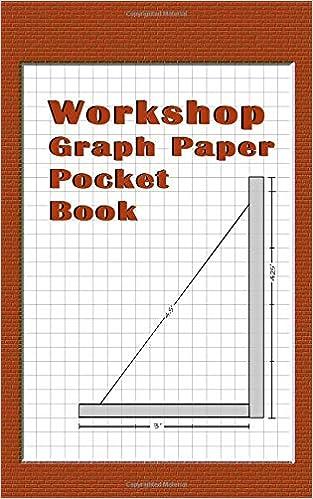 Workshop Graph Paper Pocket Book Brown 4 X4 25 Inch Graph Paper