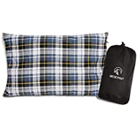 REDCAMP Outdoor Camping Pillow Lightweight, Flannel...